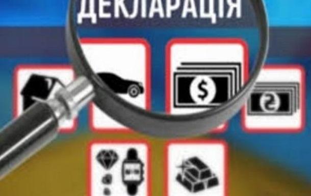 Открытые электронные декларации о доходах для сотрудников СБУ