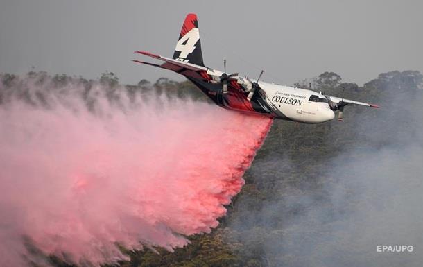 В Австралии при тушении пожаров разбился самолёт из Канады