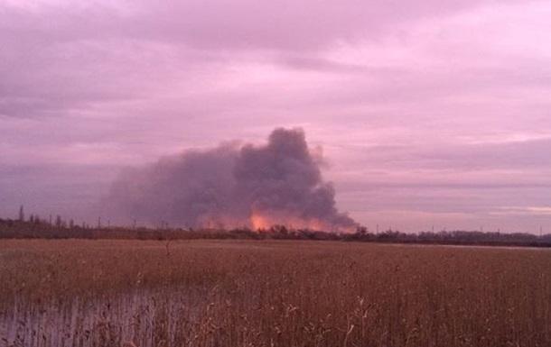 Масштабный пожар под Одессой: горел заповедник