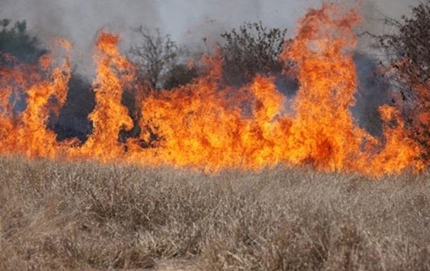 Количество пожаров увеличилось в связи с теплой зимой - ГСЧС