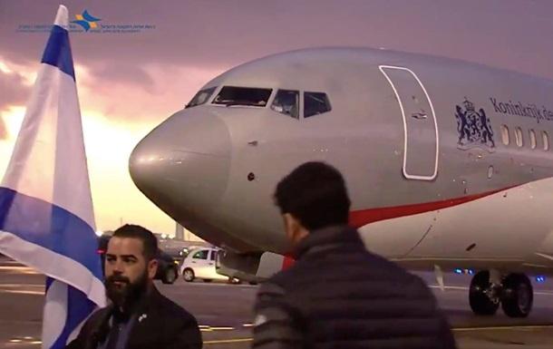 Король Нидерландов сам пилотировал самолет, на котором прилетел в Израиль