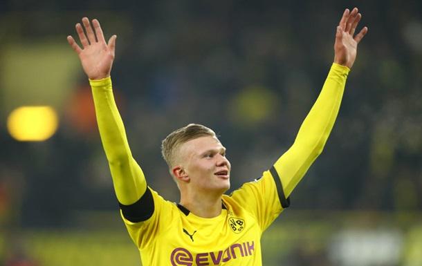 Холанд стал первым в истории Бундеслиги, забившим 5 голов в двух матчах