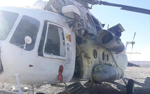 В Афганистане сбили вертолет с украинцами