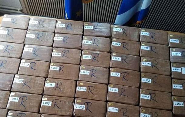 У Греції конфіскували 1,2 тонни кокаїну