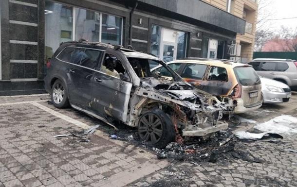 В Ужгороді спалили авто дипломата - ЗМІ