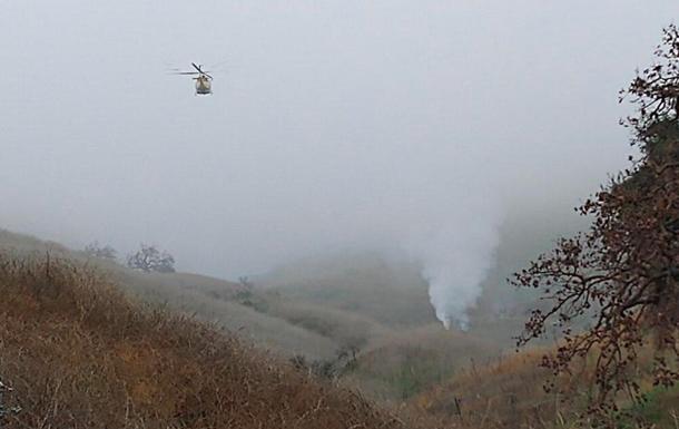 Смерть Кобі Брайанта: фото і відео з місця авіакатастрофи