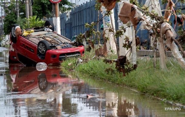 Паводки в Бразилии унесли жизни 57 человек