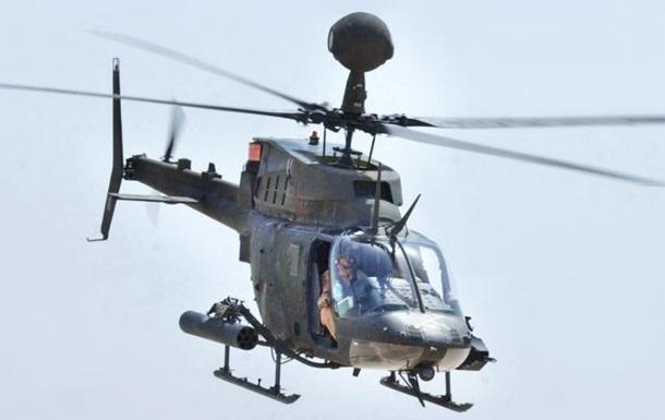 Військовий вертоліт Хорватії зазнав аварії