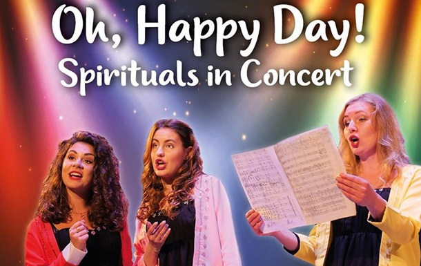 Oh,Happy Day! Spirituals in Concert  напередодні Дня закоханих у Києві