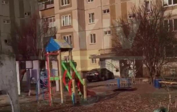 На детской площадке в Киеве нашли гранату