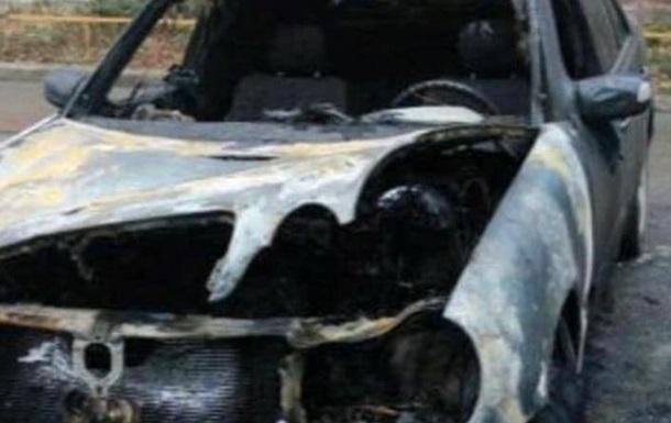 Машину военного комиссара сожгли во Львове - депутат