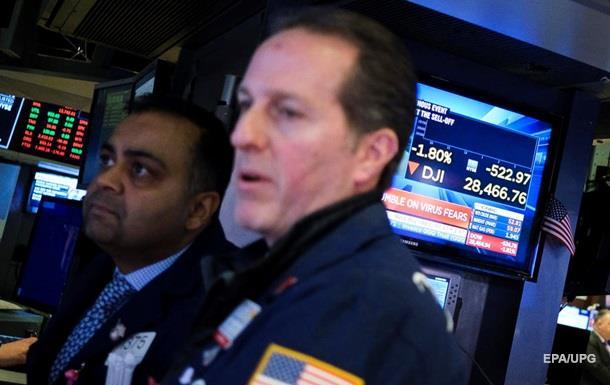 Фондовий ринок США обвалився через ситуацію в Китаї