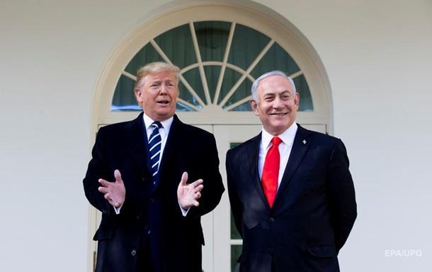 Трамп встретился с Нетаньяху в Вашингтоне