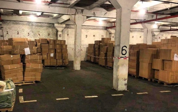 Зеленский  нашел  в порту 23 тонны игрушек