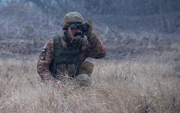 На Донбассе подорвались два бойца ВСУ