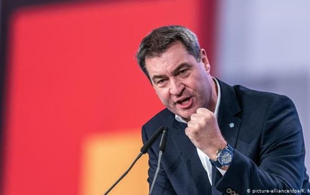 Прем єр-міністр Баварії виступає за продовження санкцій щодо Росії