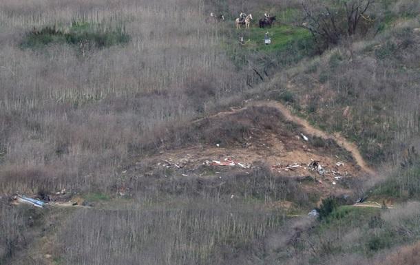 Найдены тела всех погибших при крушении вертолета с Коби Брайантом
