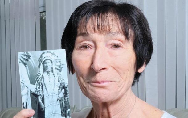 Женщина нашла двойника среди индейцев XIX века