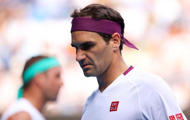 Федерера оштрафували за нецензурний вислів на матчі Australian Open