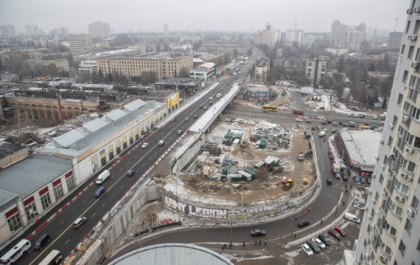 В Киеве впервые измеряют трафик на дорогах