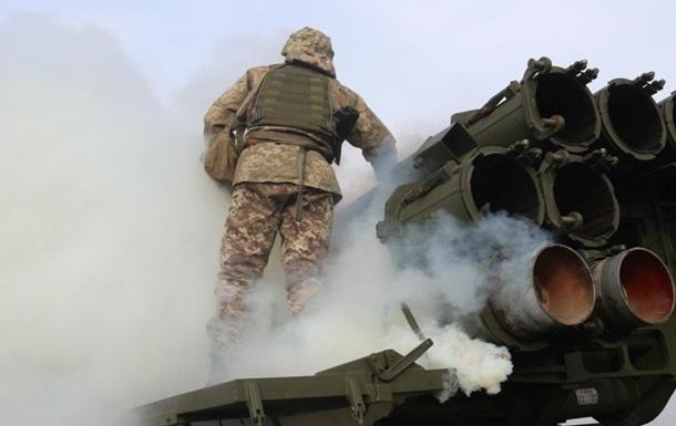 ВСУ провели учения на Донбассе с установками Смерч