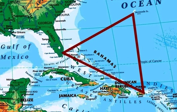 Знайдено зниклий майже 100 років тому в Бермудському трикутнику корабель