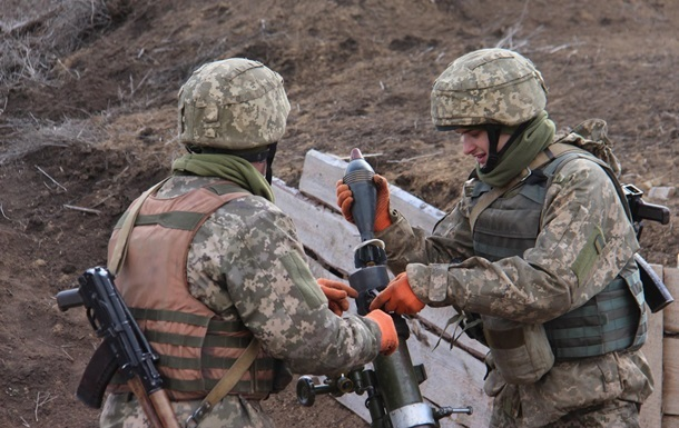 На Донбасі застосували артилерію і міномети, поранено бійця