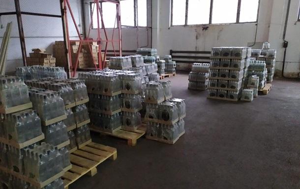 СБУ пресекла промышленное производство контрафактного алкоголя