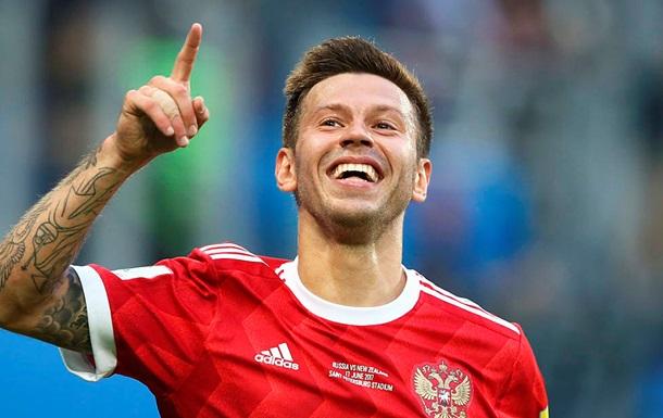 Сельта взяла в аренду игрока сборной России
