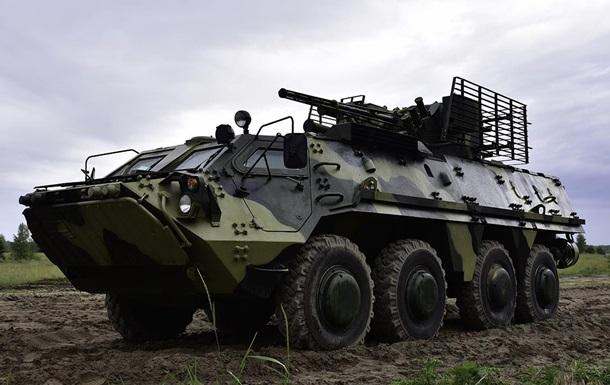 В Украине испытали на прочность БТР-4Е