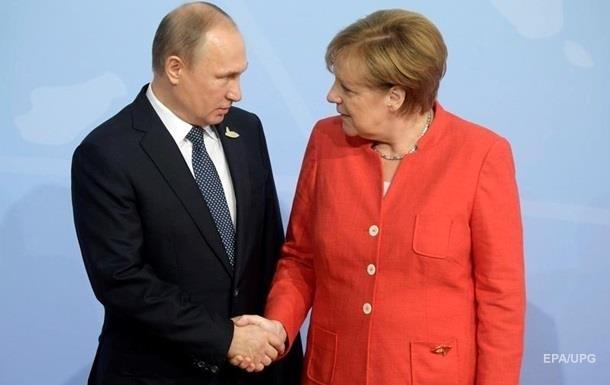 Путин и Меркель обсудили  сделку века  Трампа
