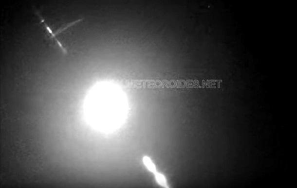 Камери зняли перший метеор 2020 року