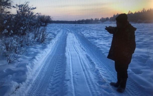 Якут замерз насмерть по пути на похороны замерзшего насмерть
