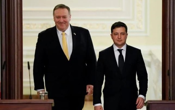 Зачем Помпео в Украину приезжал