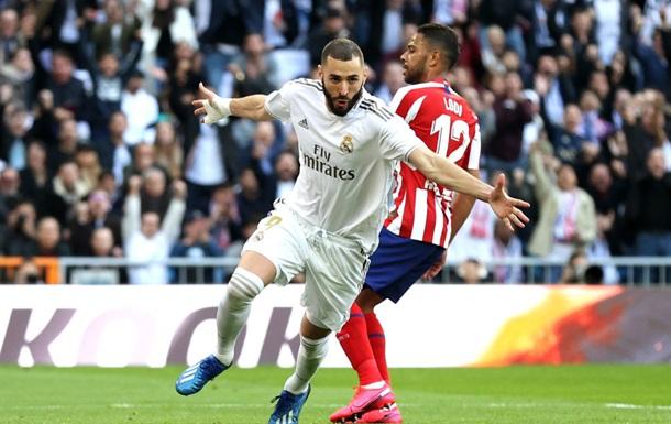 Реал одержал победу в дерби и оторвался от Барселоны на шесть очков