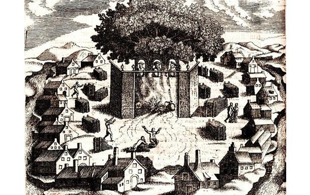 Встреча в языческом святилище в Ромове и поход на иудеев