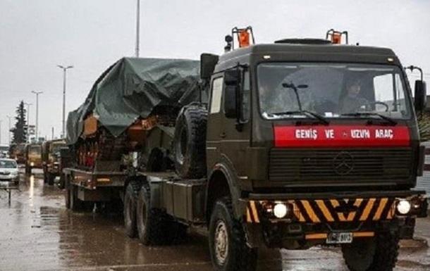 Турецкие танки вошли в Сирию – СМИ