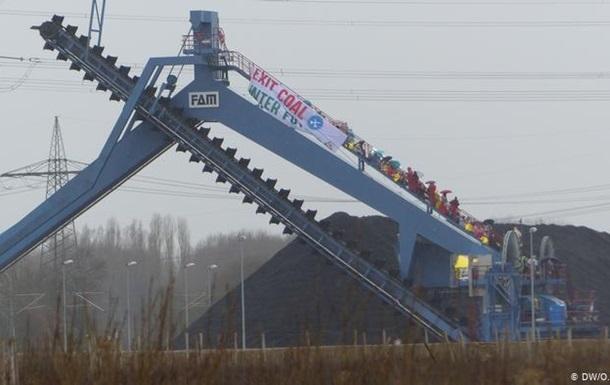 Екоактивісти захопили електростанцію в Німеччині