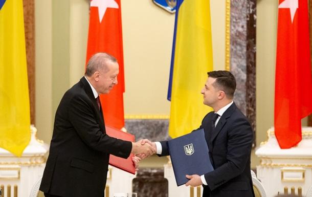 Україна і Туреччина уклали сім угод