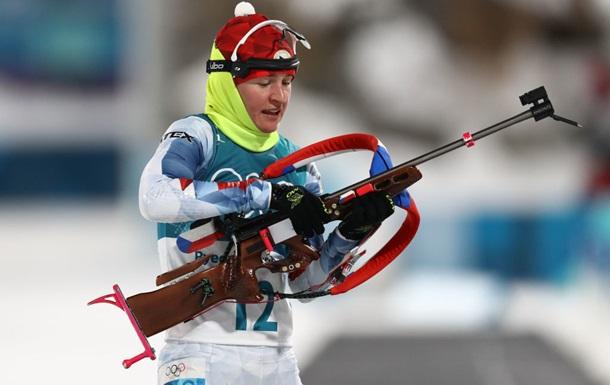 Виткова пропустит чемпионат мира по биатлону