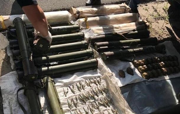 В СБУ рассказали о количестве изъятого оружия за год