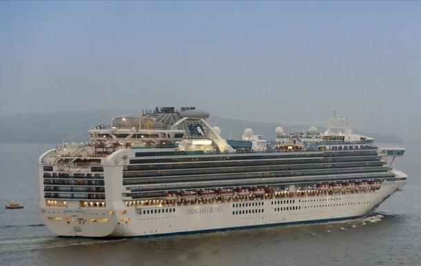В Японии обнаружили коронавирус у десяти человек на круизном лайнере