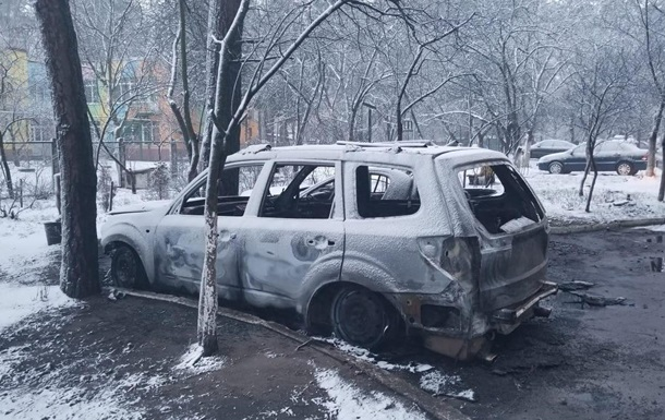 Під Києвом згорів автомобіль депутата з Ірпеня