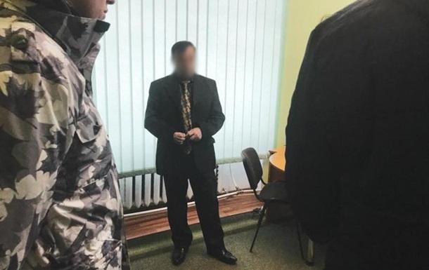 На Закарпатті затримали голову районного суду за хабар