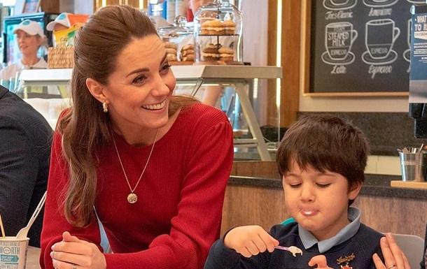 Кейт Міддлтон розчарувала дитину своїм виглядом