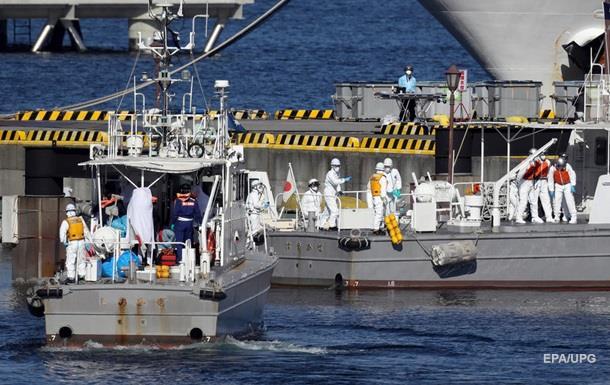 МИД: На борту заблокированного лайнера в Японии 25 украинцев