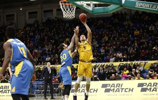 Киев-Баскет проиграл Вентспилсу битву за победу в группе