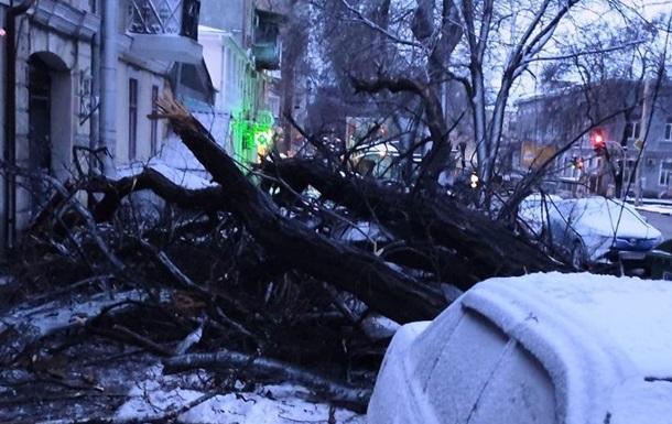 От непогоды пострадали несколько областей Украины