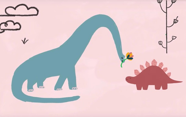 Песня ребенка о трагедии динозавров стала хитом