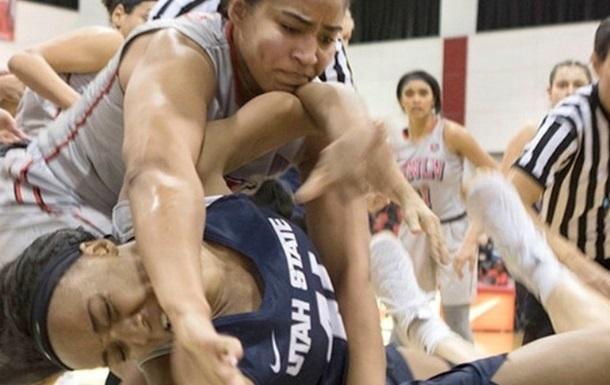 В США подрались две женские баскетбольные команды